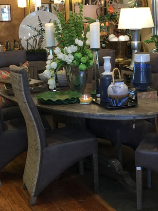 Dining Room Chairs On The Showroom Floor At Diva The