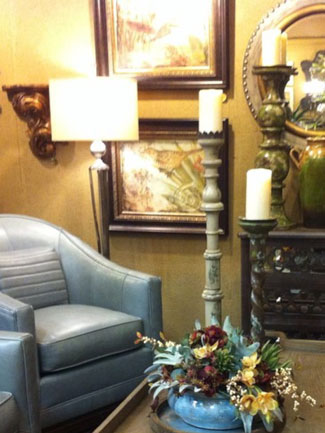 lamps, candles, chandeliers, sconces