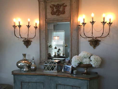 sconces are on the walls at diva the ultimate design studio furniture store in georgetown tx. Black Bedroom Furniture Sets. Home Design Ideas